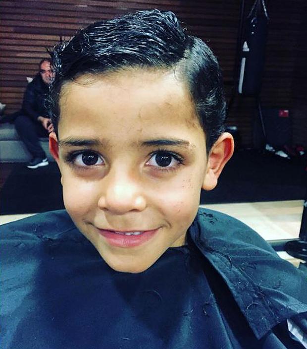 Il taglio di capelli di ronaldo