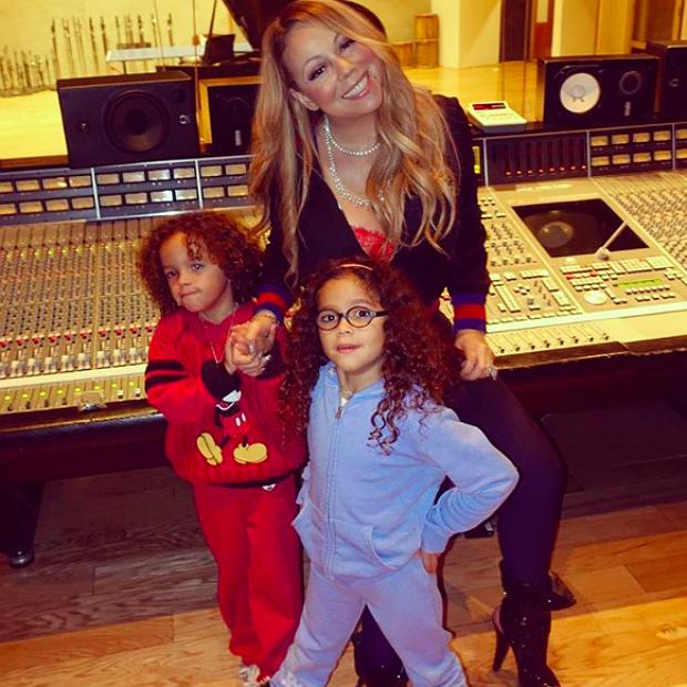 Mariah Carey porta i figli a lavoro | Pagina 6